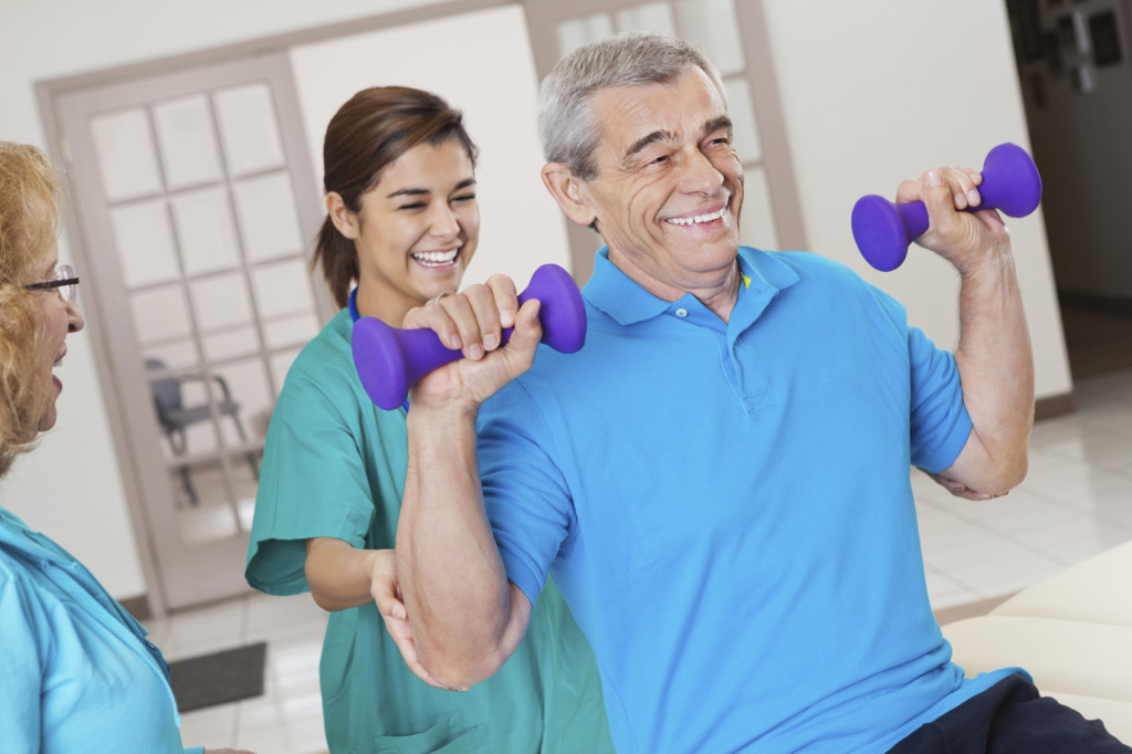 Rehabilitation & Therapy at Park Manor of Cypress Station nursing home in the Spring/Cypress/north Houston area of Texas.